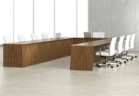 U Shaped Boardroom Table Impress Board Members With These Five Modern Conference Room Designs Modern Office Furniture