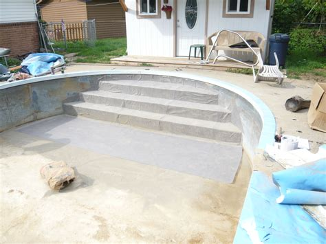 inground pool lights for existing pool stairs for inground pool home design ideas and pictures