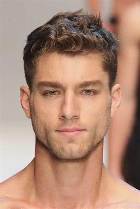 mens cuts wavy hair make face look thinner 10 good haircuts for curly hair men mens hairstyles 2018