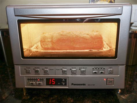 Oven Toaster Panasonic gourmet meal in a toaster oven the awesomer
