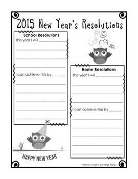 new years goals template 17 best ideas about school goals on how to