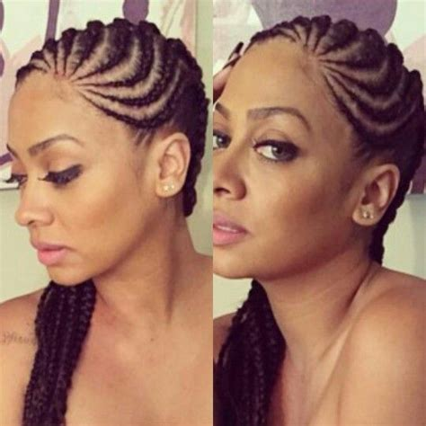 Corn Braids Hairstyles by Two Row Cornrows Hairstyles Hairstylegalleries