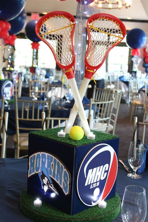 the 25 best sports themed centerpieces ideas on