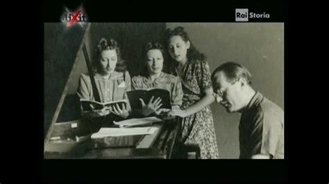 canzoni swing italiane storia delle sorelle lescano le ragazze dello swing