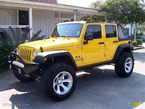 2008 jeep wrangler paint colors