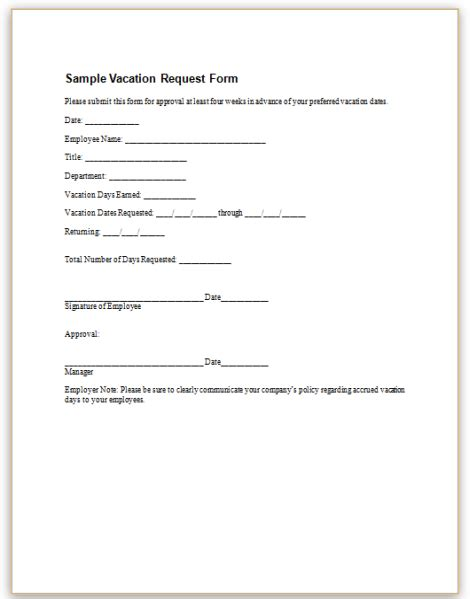Vacation Request by Search Results For Request For Vacation Time Form Calendar 2015
