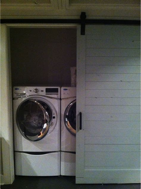 Barn Door Laundry Room Barn Style Door For Laundry Room For The Home