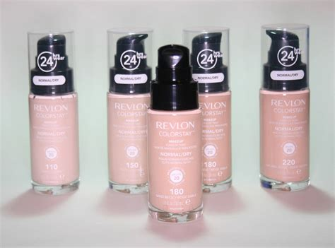 Makeup Revlon revlon colorstay makeup foundation review