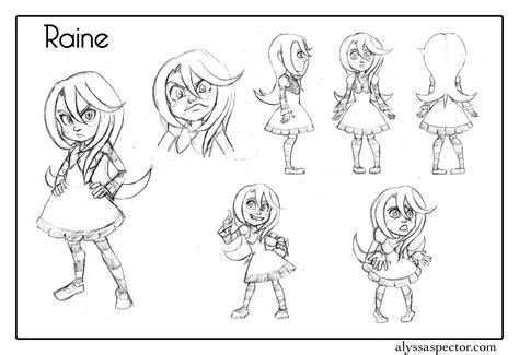 Alyssa Spector S Artblog Character Designs Character Design Template