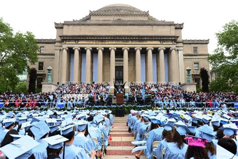 Nyu Msw Mba by Commencement Week 2015 Columbia In The City