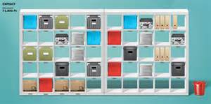 Design Your Own Bookcase Ikea Organizes Your Computer Desktop Modular 4