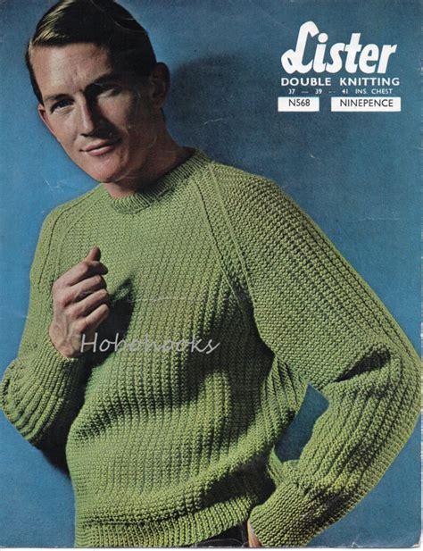 Knitting Pattern Ribbed Jumper   mens ribbed sweater knitting pattern fishermans rib by