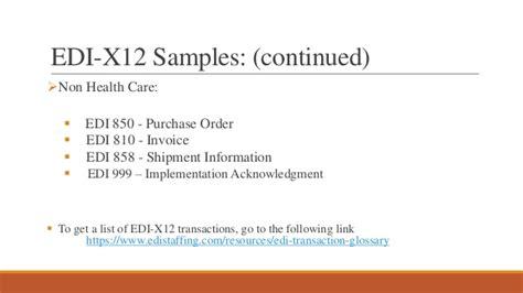 convert an edi document form 270 to a csv file edi ppt