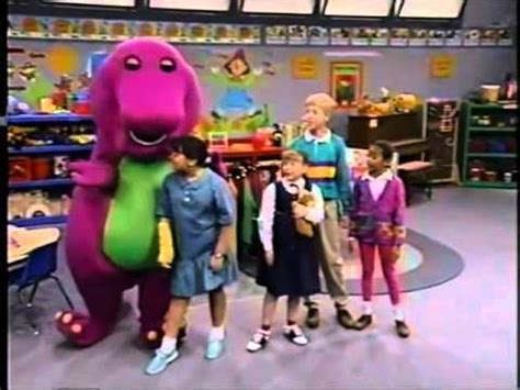 barney friends blue and circles part 6