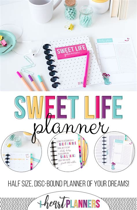the sweet life printable planner the sweet life planner is here i heart planners