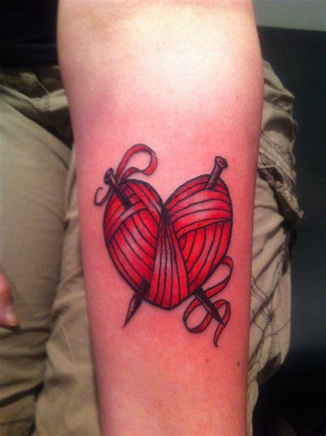 knitting tattoos designs 14 best knitting designs images on