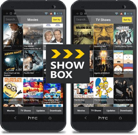 apk apps showbox showbox app for android apk version