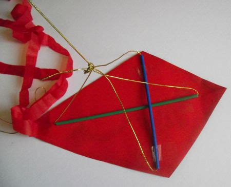 How To Make A Paper Kite For Preschoolers - kite craft