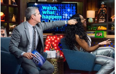 does jewll tankard have real hair andy cohen welcomes kenya moore rhoa jewel tankard and