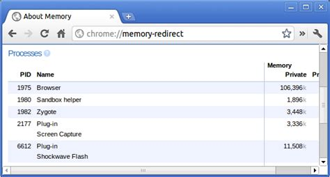 chrome memory suresh kumar pakalapati s linux administration 05 05 12