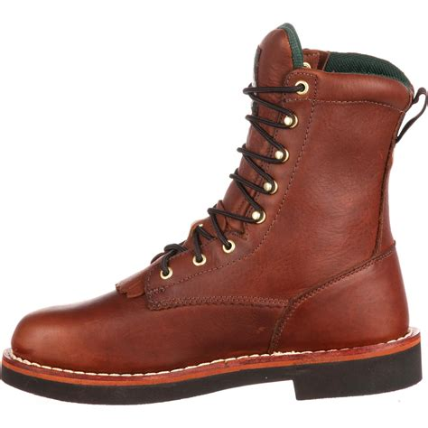 mens farm boots s farm ranch brown lacer work boots boot