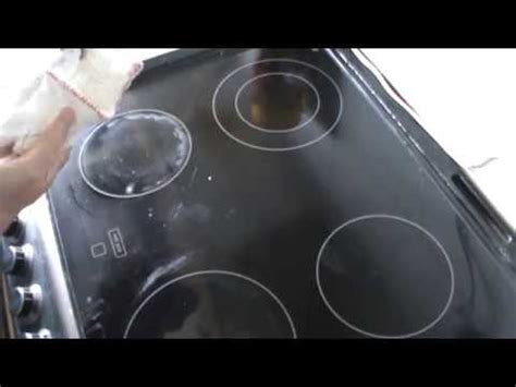 ceramic cooktop scratches how to get scratches out of your ceramic stove top doovi