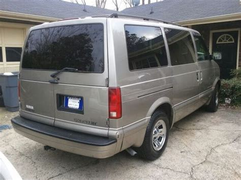 where to buy car manuals 2002 chevrolet astro security system find used 2002 chevy astrovan in roswell georgia united states