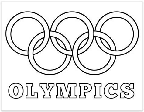 olympic rings coloring page plucky momo family
