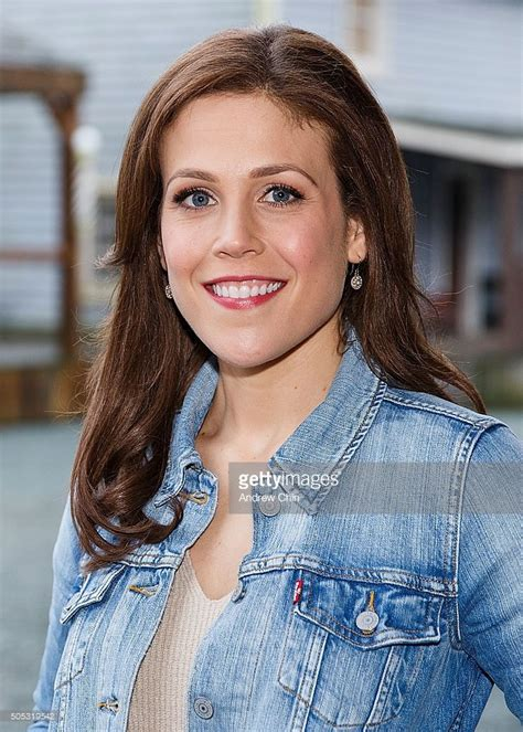 daniel and erin fans american actress erin krakow poses for a portrait during