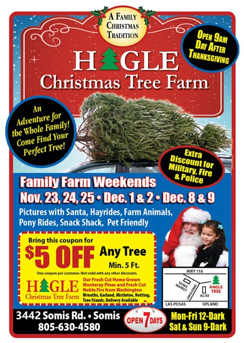 tree farm coupon closed for remainder of 2018 season hagle tree farm