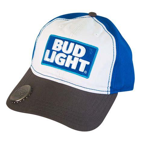 Bud Light Hats Bud Light Logo Bottle Opener Hat