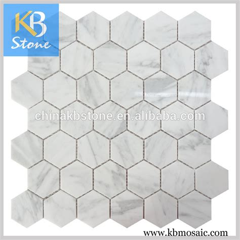 Rak Hexagon Tiles carrara marble small hexagon glass mosaic bathroom tiles