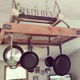 Hanging Pot Rack Ideas 25 Best Ideas About Pan Rack On Pot Rack