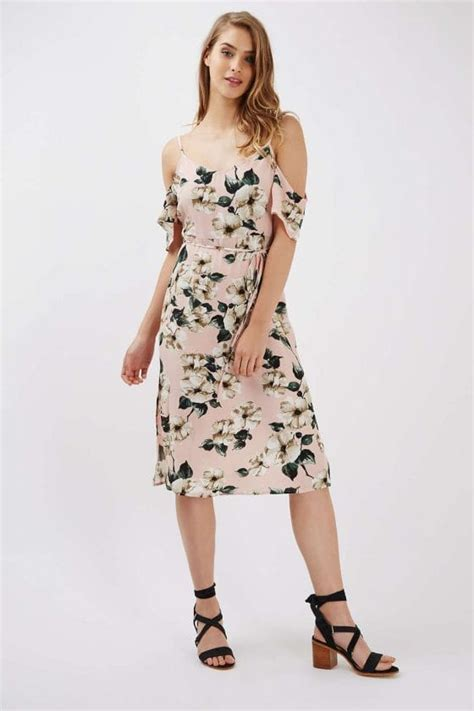 036 Topshop Floral Dress a complete guide to the best wedding guest dresses
