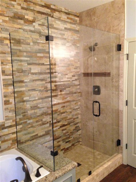 frameless glass shower door photo gallery precision glass Walk In Shower Doors Glass