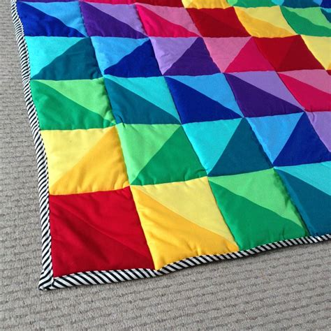 How To Make A Patchwork Quilt Easy - how to make a simple patchwork baby quilt archives hello