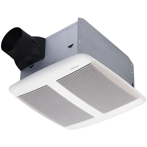 quiet bathroom exhaust fan with led light bathroom broan qtr080 ultra silent bath fan sones cfm