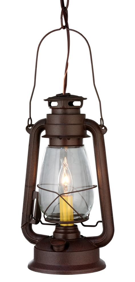 Mini Lantern Pendant Light Meyda 114828 Miners Lantern Mini Pendant