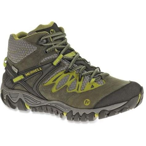 hiking boots rei merrell all out blaze mid waterproof hiking boots