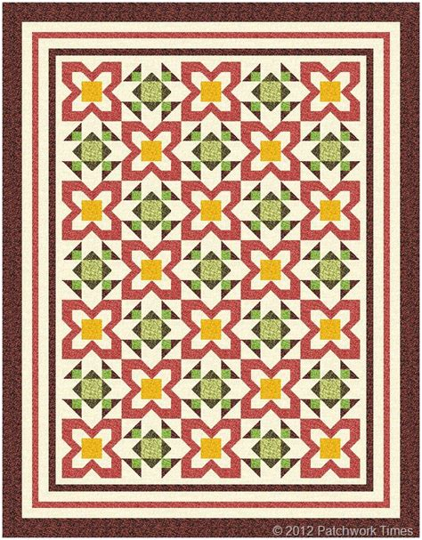 Free Patchwork Quilt Patterns - nicole s sofa quilt patchwork times by judy