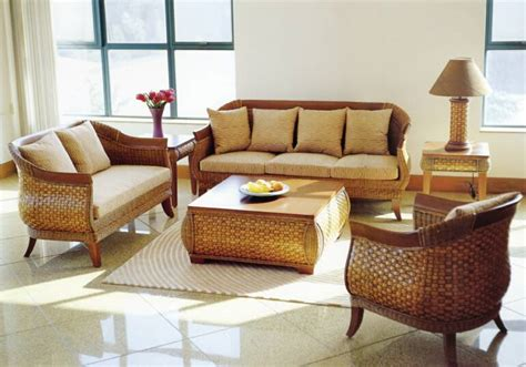 Indoor Wicker Furniture by San Diego Rattan