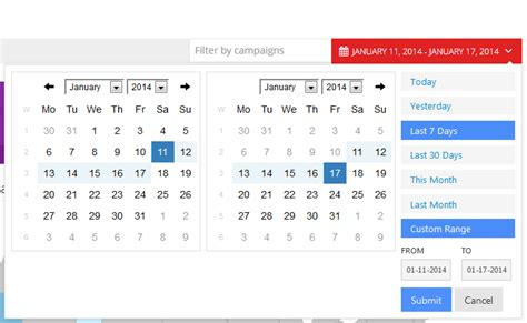 Ui Pattern Date Range | interaction design better way for users to select a date