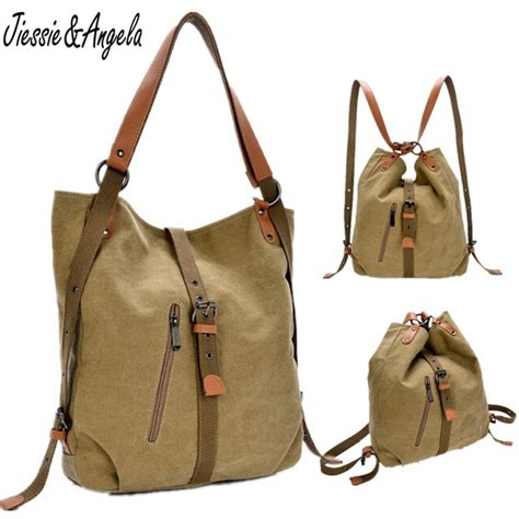 Fashion Advice Great Travel Bags For Less 3 by New 2016 Backpack Vintage Canvas Bag Shoulder Bag