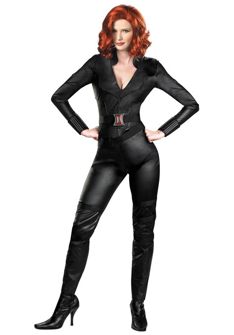 black costume deluxe black widow costume