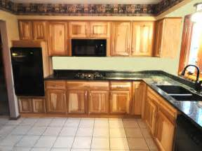 cabinets with hickory wood floors wood floors
