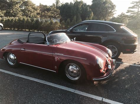 porsche speedster for sale 1958 porsche 356 speedster red factory coach built for sale