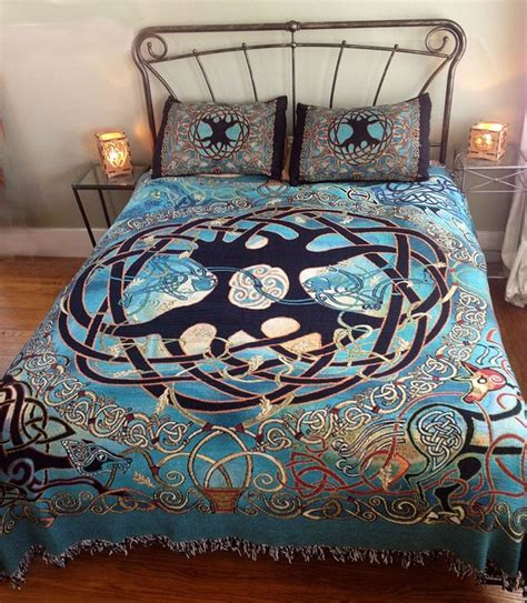 tree of life bedding tree of life celtic bed spread celtic home decor