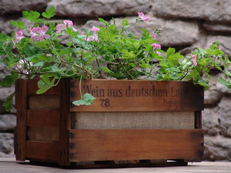 Flower Ideas For Planters by Wooden Flower Pots Ideas Modern Magazin