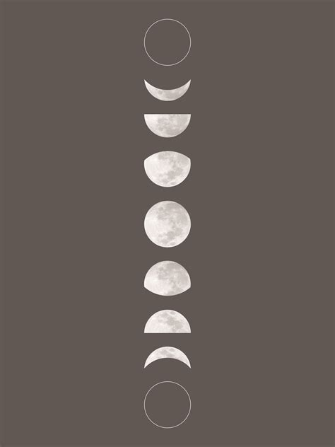 printable wall art pattern the nest free printable moon phase art and pattern