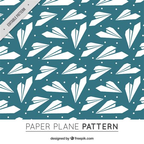 pattern paper airplane paper airplane pattern free vector free download